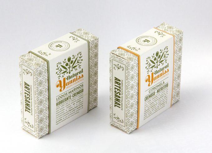 Branding y packaging para Natural Yanniss